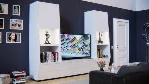 Teak TV meubel